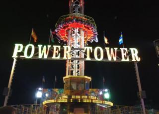 Power Tower ride at Hull fair
