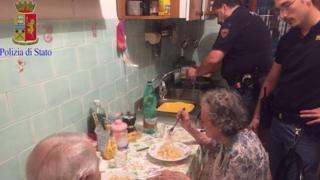 Jole y Michele, una pareja de ancianos de Roma.