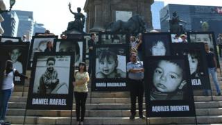 Una protesta por el caso de la guardería ABC