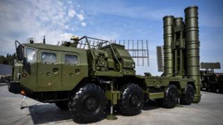 Rusya'nın S-400 hava savunma sistemi