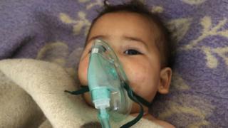 Suriye Kimyasal saldırı çocuk