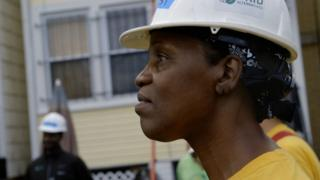 Sharon's life was rock bottom when she was homeless but now she has a bright future in the solar industry.