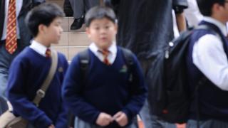 香港學生資料照片
