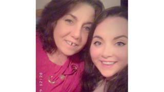 Heather O'Brien with her daughter Darcy Dobson