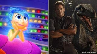 Inside Out and Jurassic World