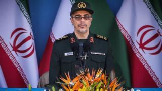 سرلشکر محمد باقری رئیس ستاد کل نیروهای مسلح ایران است