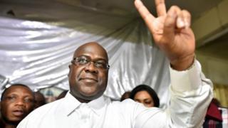 Bwana Tshisekedi w'imyaka 55 y'amavuko yatangajwe n'akanama k'amatora ka Kongo ko ari we watsinze amatora ya perezida yabaye mu kwezi kwa cumi na kabiri k'umwaka ushize wa 2018