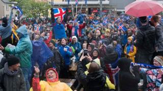 Iceland fans gada for Reykjavic to celebrate as dem hold Argentina