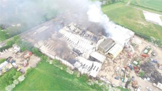 Four Winds Industrial Estate in Haynes