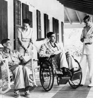 Tapscott and Widdicombe were visited by the Duke and Duchess of Windsor in hospital in Nassau