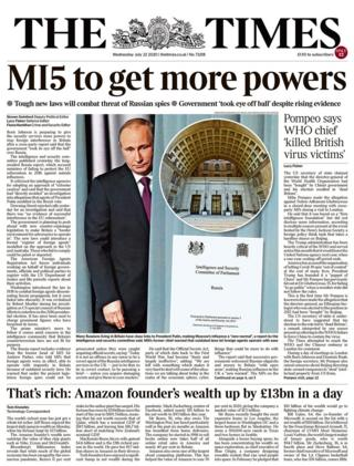 The Times 22 July 2020