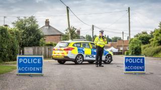 Police in Magdalen