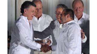Rais Manuel Santos kutoa fedha zake kusaidia waathirika wa mgogoro nchini mwake