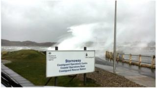 coastguard sign