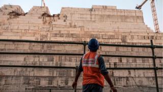 أعمال بناء سد النهضة