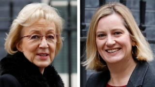 Andrea Leadsom and Amber Rudd