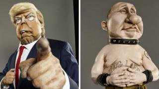 Spitting Image show plots return to TV after 23 years