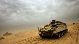British tank in Iraq