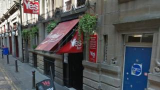 Yesbar on Drury Street