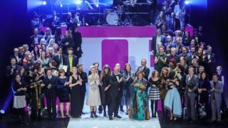 برندگان جوایز در پایان مراسم اختتامیه