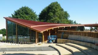 RSPB's new visitor centre