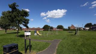 King George V playing field, Fenham
