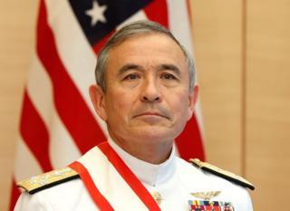 美国海军上将哈里斯(Harry Harris)