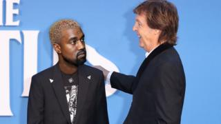 Kanye West and Paul McCartney.