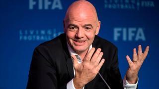 Gianni Infantino est assuré d'un deuxième mandat à la présidence de la Fifa.