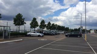 The new car park