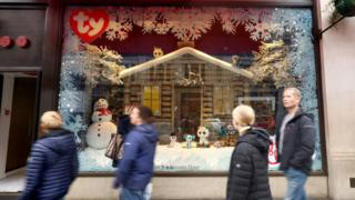 Technology Hamleys Christmas window