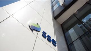 SSE logo on office building