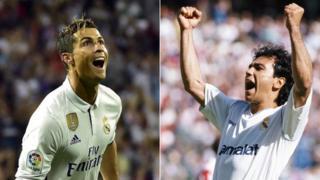 Ronaldo y Sánchez