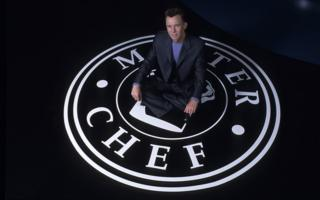 in_pictures Gary Rhodes on the MasterChef logo in 2001