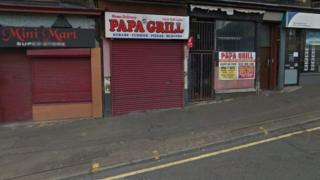 Papa Grill on Causeyside Street, Paisley
