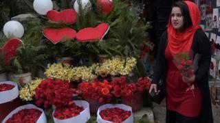 Afganistan'da sevgillier günü