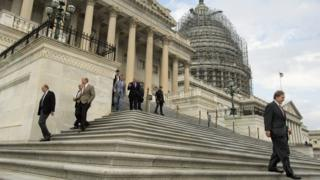 US Congress leaders on the Hill
