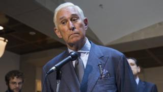 Roger Stone, an associate of US President Donald J. Trump - 26 September 2017
