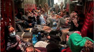 Кабылдан Италияга эвакуация жүргүзгөн акыркы учак