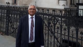 Rajeshkumar Mehta outside court