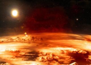 Planeta sa narandžastom atmosferom