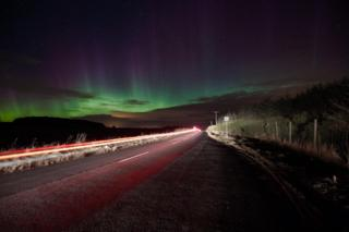 Aurora from Peterhead