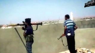 مقاتلون من جماعة أنصار الشريعية في ليبيا
