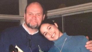 ميغان ماركل ووالدها