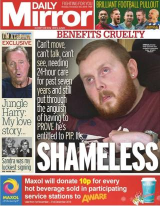 Daily Mirror Monday