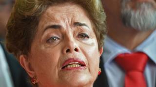 Dilma Rousseff. 31 Aug 2016