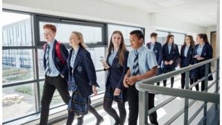 File photo of schoolchildren smiling