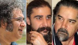 رضا خندان مهابادی، کیوان باژن و بکتاش آبتین