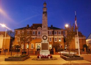 Grays war memorial
