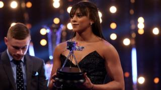 Ellie Downie,Winner of Young Sports Personality of the Year